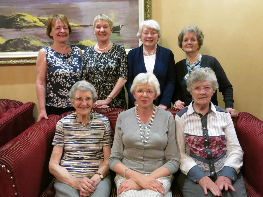Ladies who attended the Probus All-Ireland Rally in Ennis, Co Clare on 14 May 2015